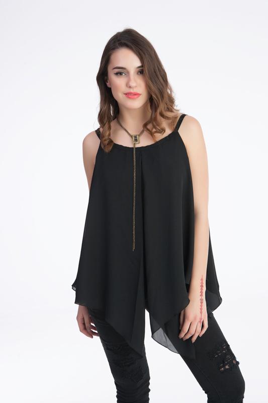 9e684be9a332 Γυναικεία Μπλούζα Ριχτή από Μουσελίνα - Prestige Fashion