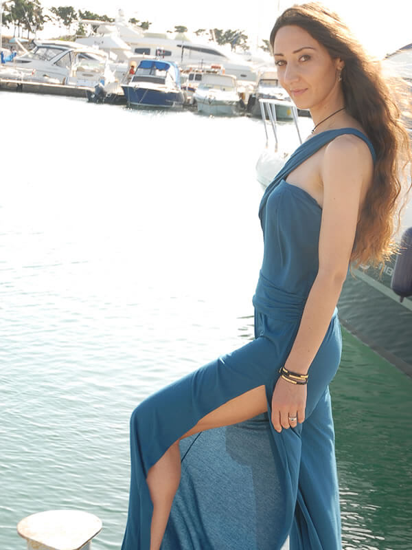 Παντελόνι Ολόσωμο με Άνοιγμα στο Πλάι