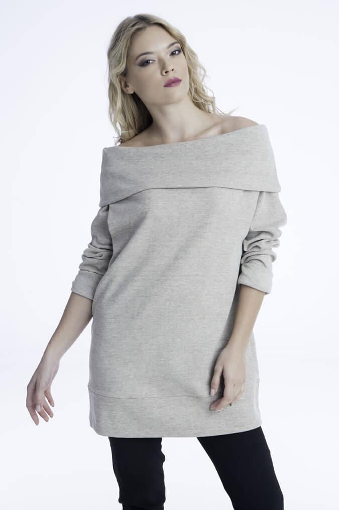 Γυναικεία Μπλούζα με Ντραπέ Λαιμό