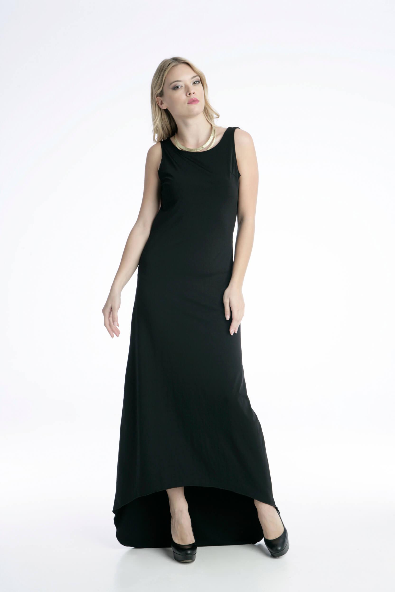 30f82a342877 Γυναικείο Maxi Φόρεμα Βραδινό Εξώπλατο - Prestige Fashion