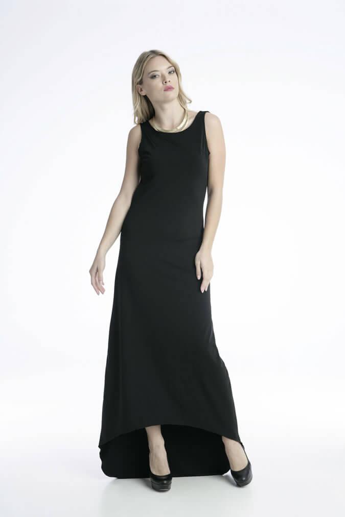 Γυναικείο Maxi Φόρεμα Βραδινό Εξώπλατο