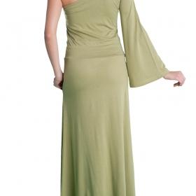 Γυναικείο φόρεμα με ένα μανίκι καμπάνα
